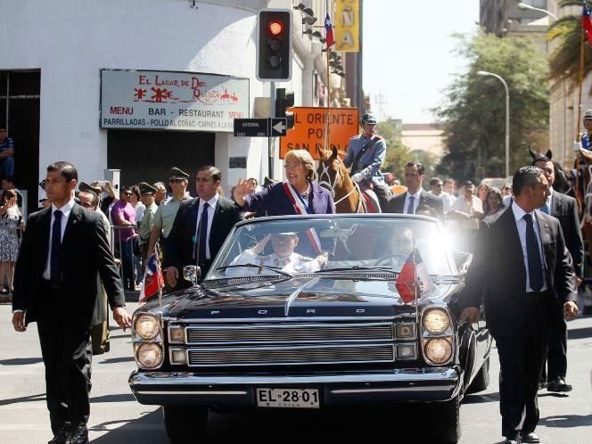 1966 Ford Galaxie Xl Convertible Was Given To Chile As A Gift By
