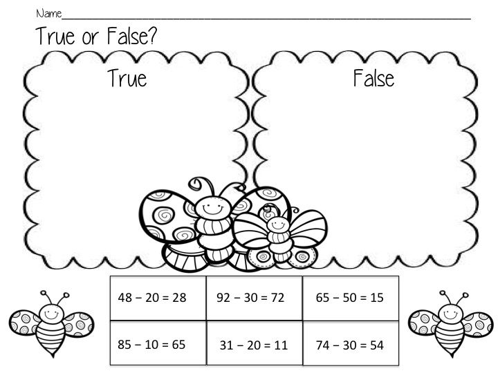 Pin On Teaching Stuff Cut and paste subtraction worksheets