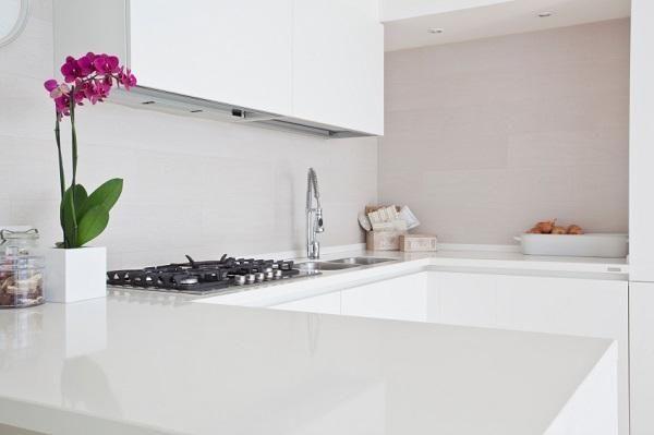 Cocina en color blanco | Decoración de Interiores | Pinterest ...