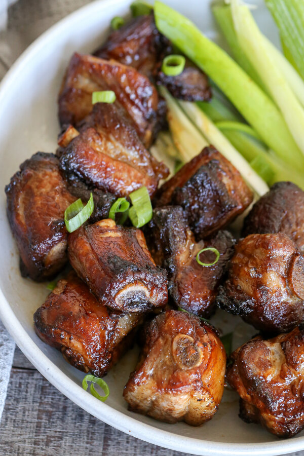 Korean Air Fryer Pork Ribs (Easy) Momsdish Pork ribs