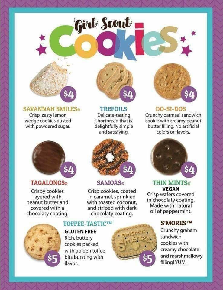 girl scout cookies 2018 order here  s digitalcookie