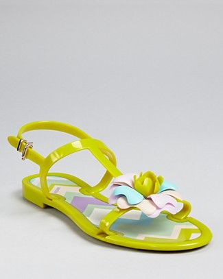 "Missoni jelly sandals..seriously??!! "" Not available""..but I'm wondering how much these bad boys go for!!;)"