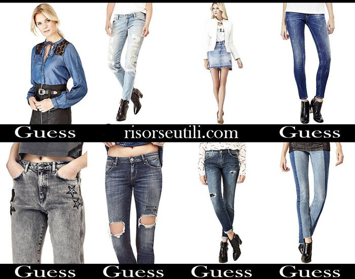 reputable site 37cb3 89846 Jeans Guess fall winter 2017 2018 women denim | Apparel For ...