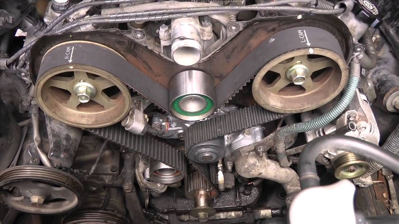 http://strictlyforeign.biz/ Toyota v6 5vzfe Timing Belt Replacement DIY Part