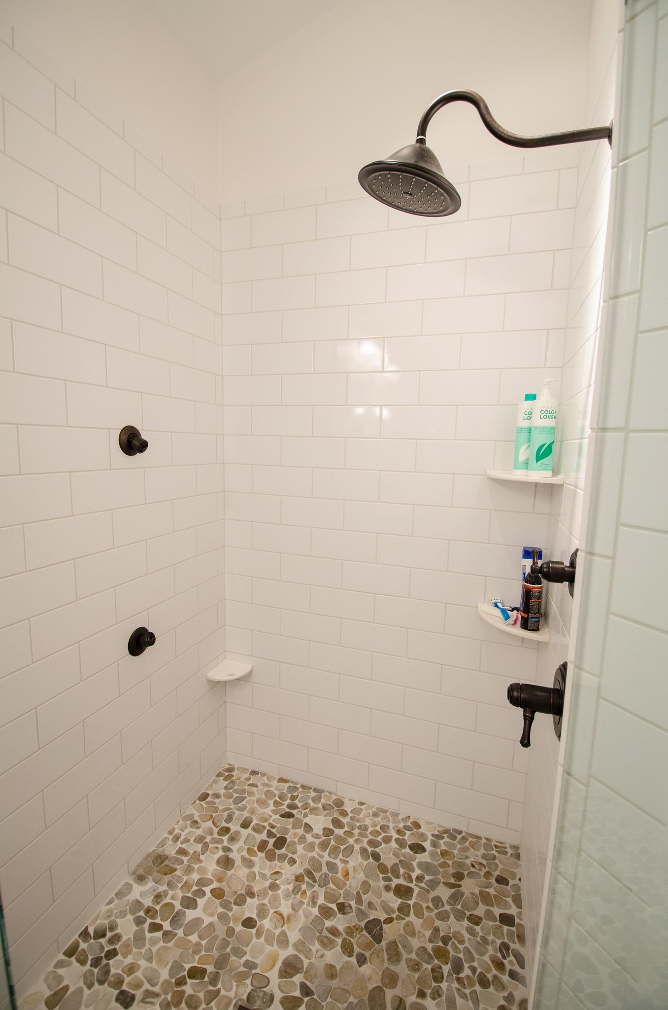 JB470 - AFTER-0105 | Wood tile floors, Double mirror and Bathroom trends