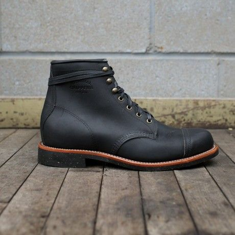 Chippewa's Black Odessa Homestead Boots at www.burgundschild.com | Burg &  Schild Shoes | Pinterest | Men stuff and Men's fashion
