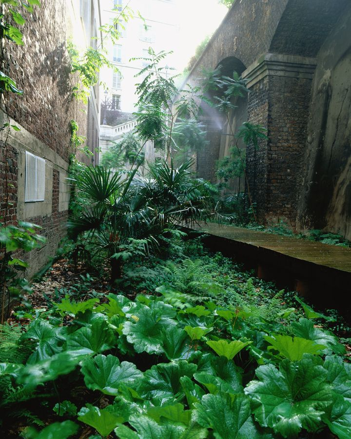 Palais De Tokyo Atelier Le Balto Le Site Landschaftsdesign Landschaftsarchitektur Gartendekoration