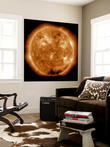 Solar Activity on the Sun Wall Mural by Stocktrek Images at AllPosters.com