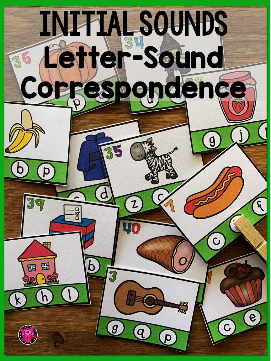 Beginning Sounds Letter Sound Correspondence Activities Letter Sound Correspondence Letter Sounds Initial Letter Sounds [ 1152 x 864 Pixel ]