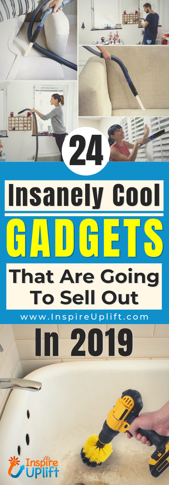 24 Insanely Cool Gadgets That Are Going To Sell Out In 2019 😍 InspireUplift.com