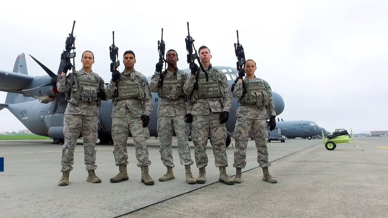 The Pacific Air Forces Pacaf 2018 Advanced Combat Skills Assessment Competition Winners From The U S Air Force 374th Security Forces Sq Air Force Combat Air