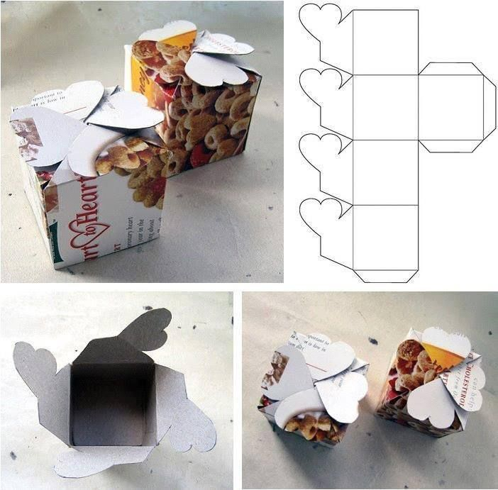 How To Make Simple Cardboard Gift Packaging Boxes Step By Step Diy