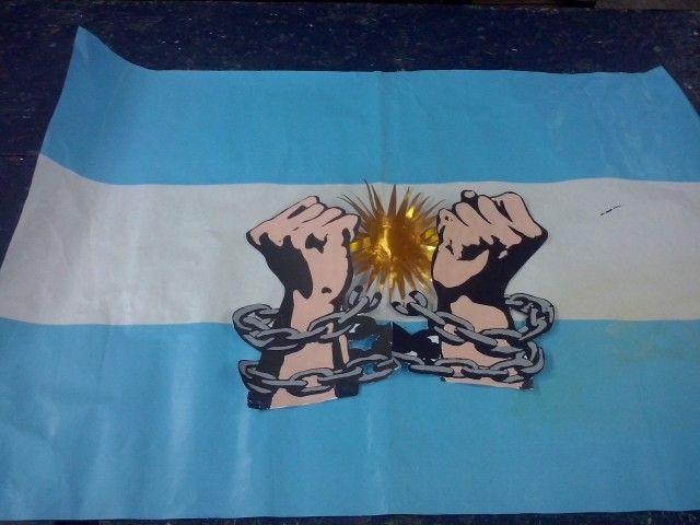 Cartelera 9 De Julio Carteleras Escolares Día De La Independencia 25 De Mayo Argentina