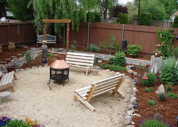 Small backyard patio ideas on a budget with beautiful for Small patios on a budget