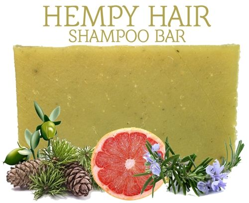 Hempy Hair 100% Natural Shampoo Bar No artificial fragrances