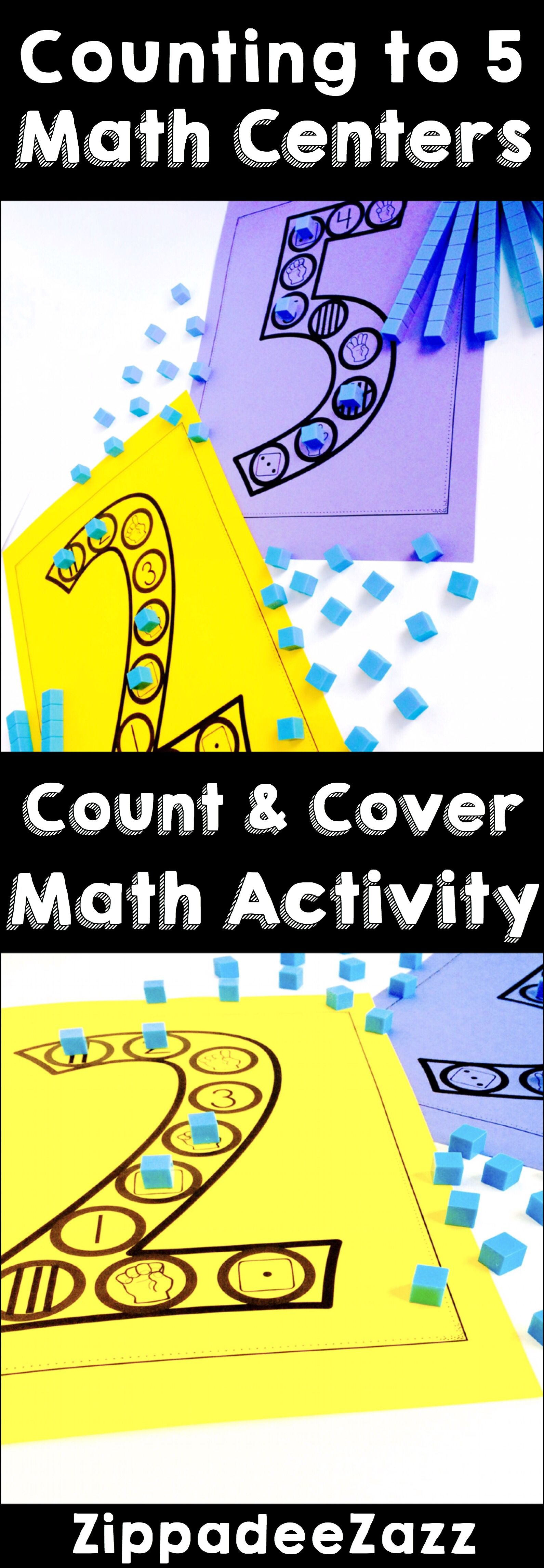Learn To Count By Using These Count And Cover Mats Count