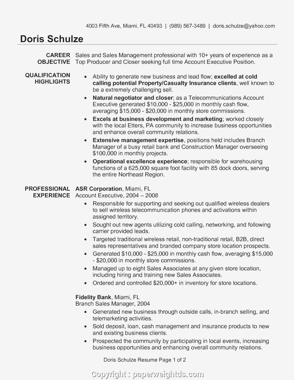 Account Executive Sample Resume Account Manager Sample Resume Account Executive Resume Examples Key A Best Resume Template Resume Examples Account Executive