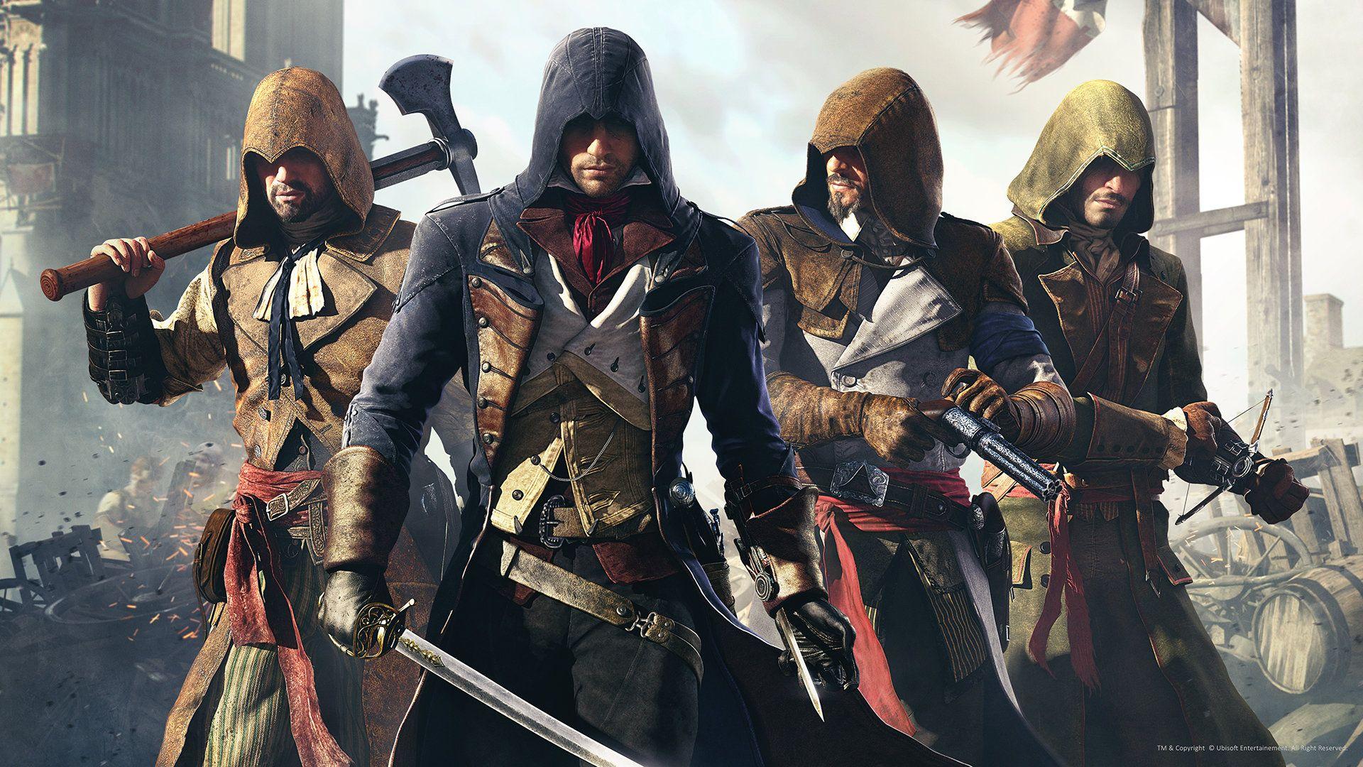 Assassin S Creed Unity Artwork02 Hugo Deschamps Assassin S
