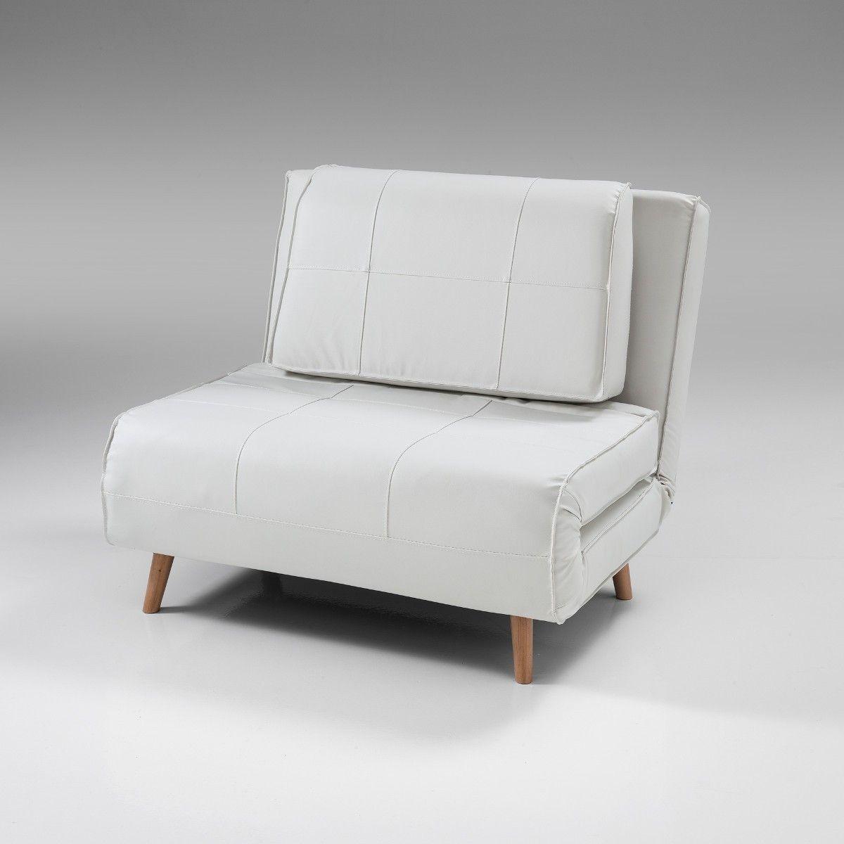 Poltrona+letto+Narumi+singola+convertibile+design+in+ecopelle+ ...