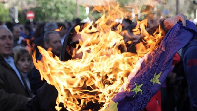 Germany Bans Burning Of Eu And Other Flags In 2020 Jail Bbc News Cnn News