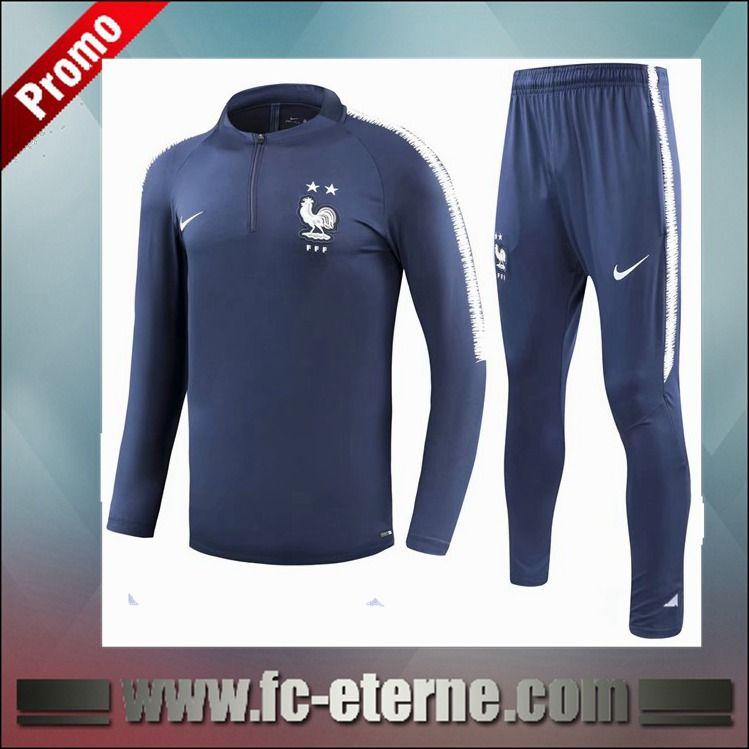 nike psg dry squad veste survêtement bleu marine