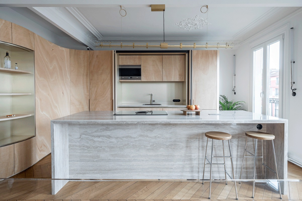 Gallery Of Wood Ribbon Apartment Toledano Architects 13 In