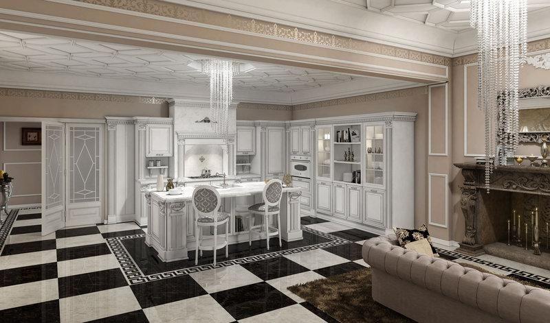 Risultati immagini per cucina classica bianca | Cucine | Pinterest ...