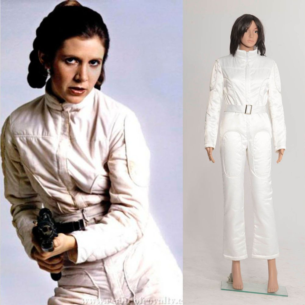 6985c3fe20ee Star Wars A New Hope Princess Leia Organa White Jumpsuit  Tailored ...