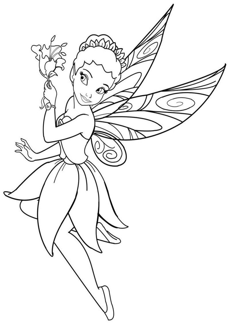 Kolorowanki Wrozki Disney 15 Jpg 794 1123 Fairy Coloring Pages Fairy Drawings Fairy Coloring Book