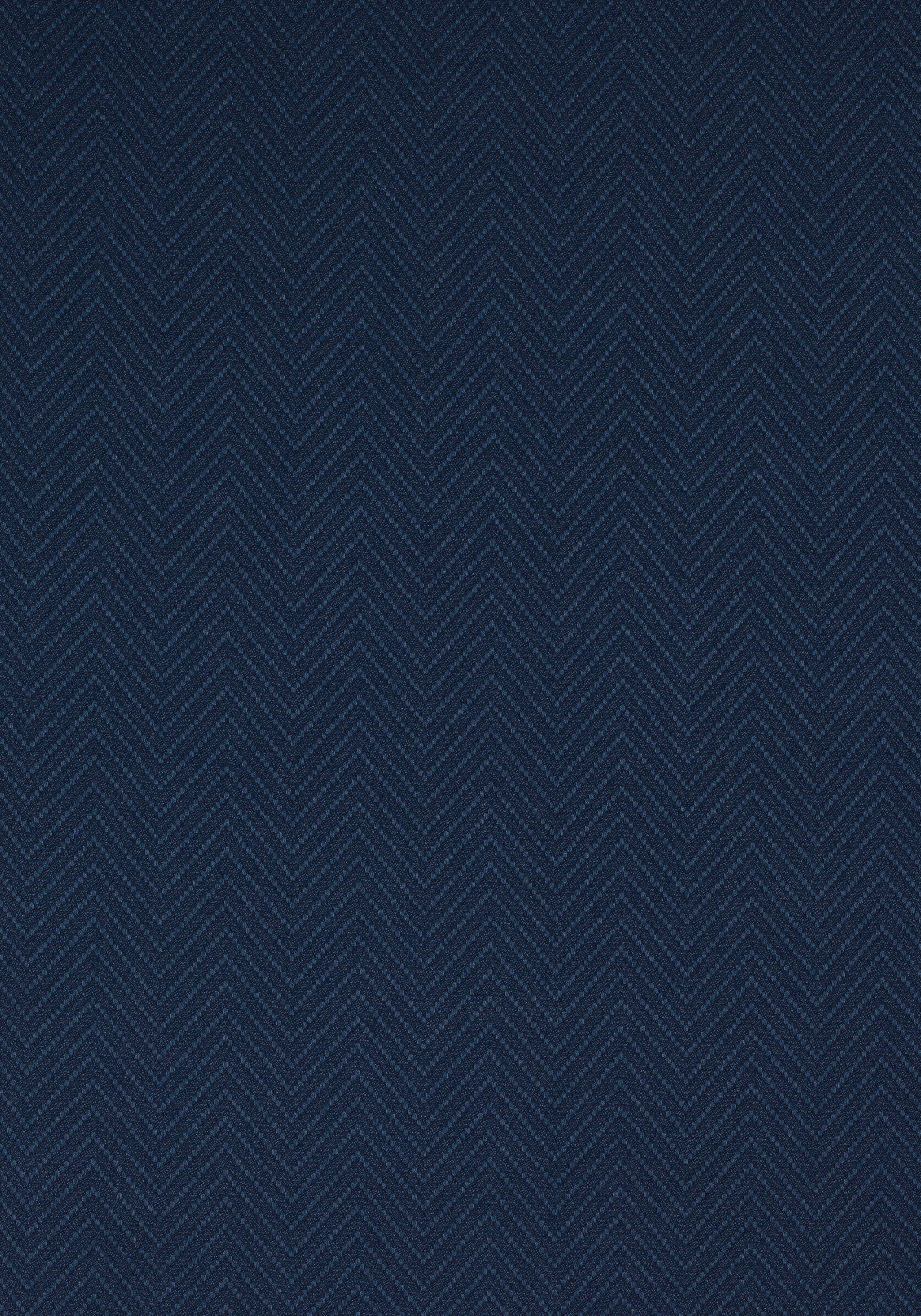 W80008 Blue Fabric Texture Herringbone Wallpaper Navy Wallpaper