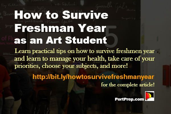 Learn practical tips on how to survive freshman year and learn to manage your health, take care of your priorities, choose your subjects, and more!