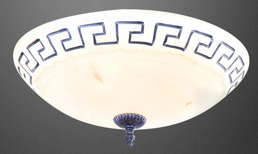 Plafoniere Classiche In Cristallo : Plafoniera in vetro patinato ambra plafoniere classiche