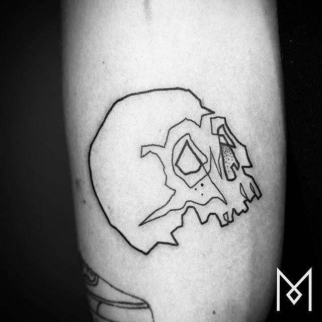 Tattoo Filter Mo Ganji Small Skull Tattoo Tattoos For Guys