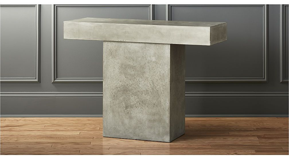 Fuze Grey Console Table Width 41 Depth 15 Height 30 25 499 Gray Console Table Outdoor Console Table Modern Console Tables