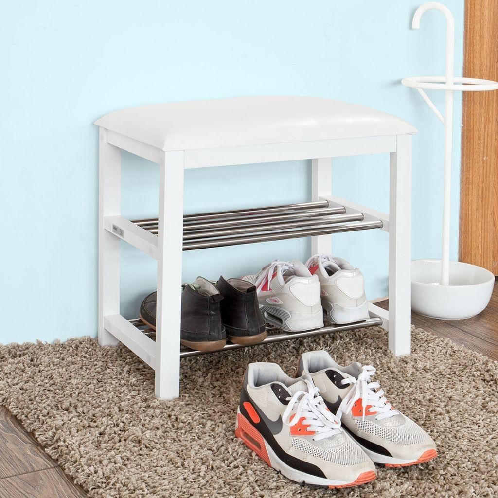 Sobuy Mini Schuhbank Sitzbank Schuhregal Schuhschrank Badregal Fsr18 K Wdieser Praktische Und Geraumige S Schuhregal Schuhschrank Design Schuhschrank Sitzbank