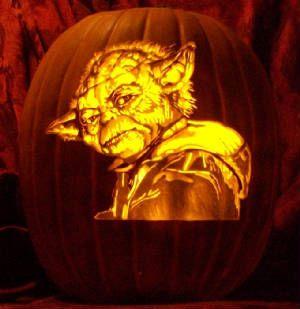 6 star wars pumpkin carvings with detail insanity - Star Wars Halloween Pumpkin Carving Patterns