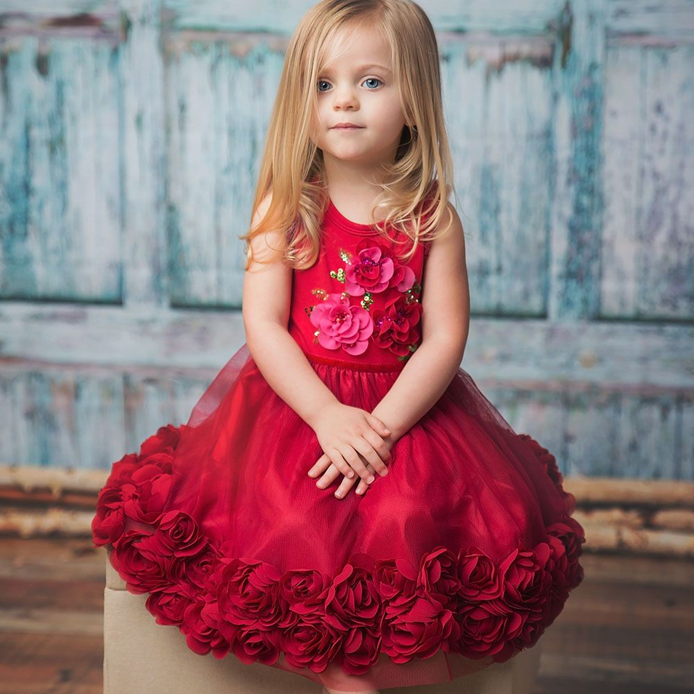 Ruby sparkly collection by haute baby offers stunning holiday