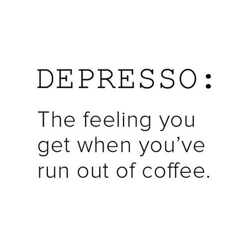 the struggle is real! #coffee