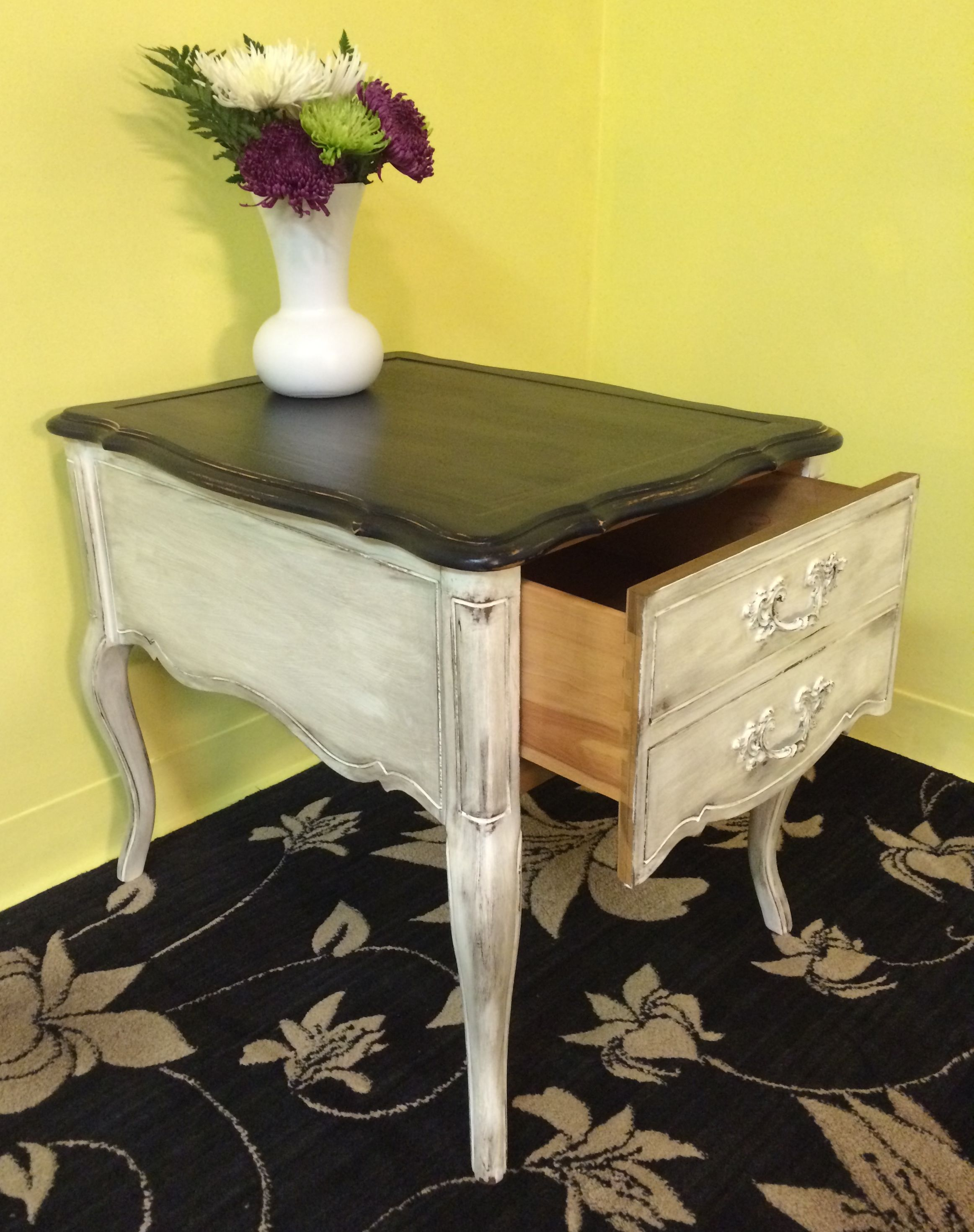 distressed coffee tables wood