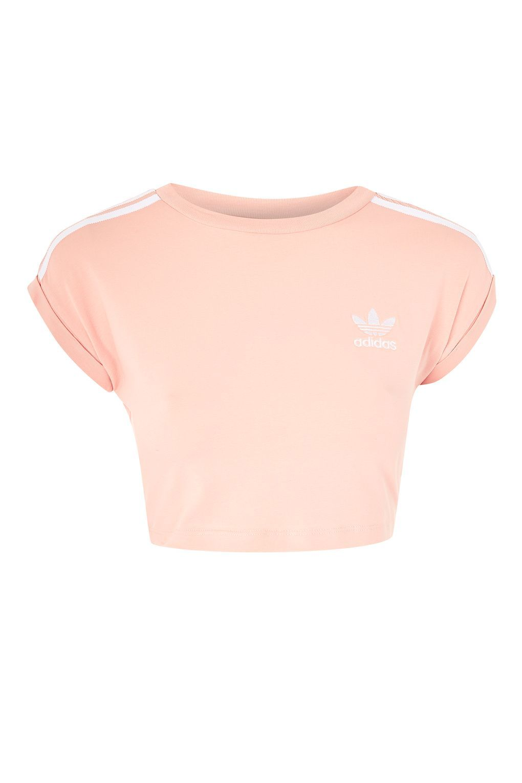 4a43d5747c14 3-Stripe Crop Top by Adidas Originals in 2019