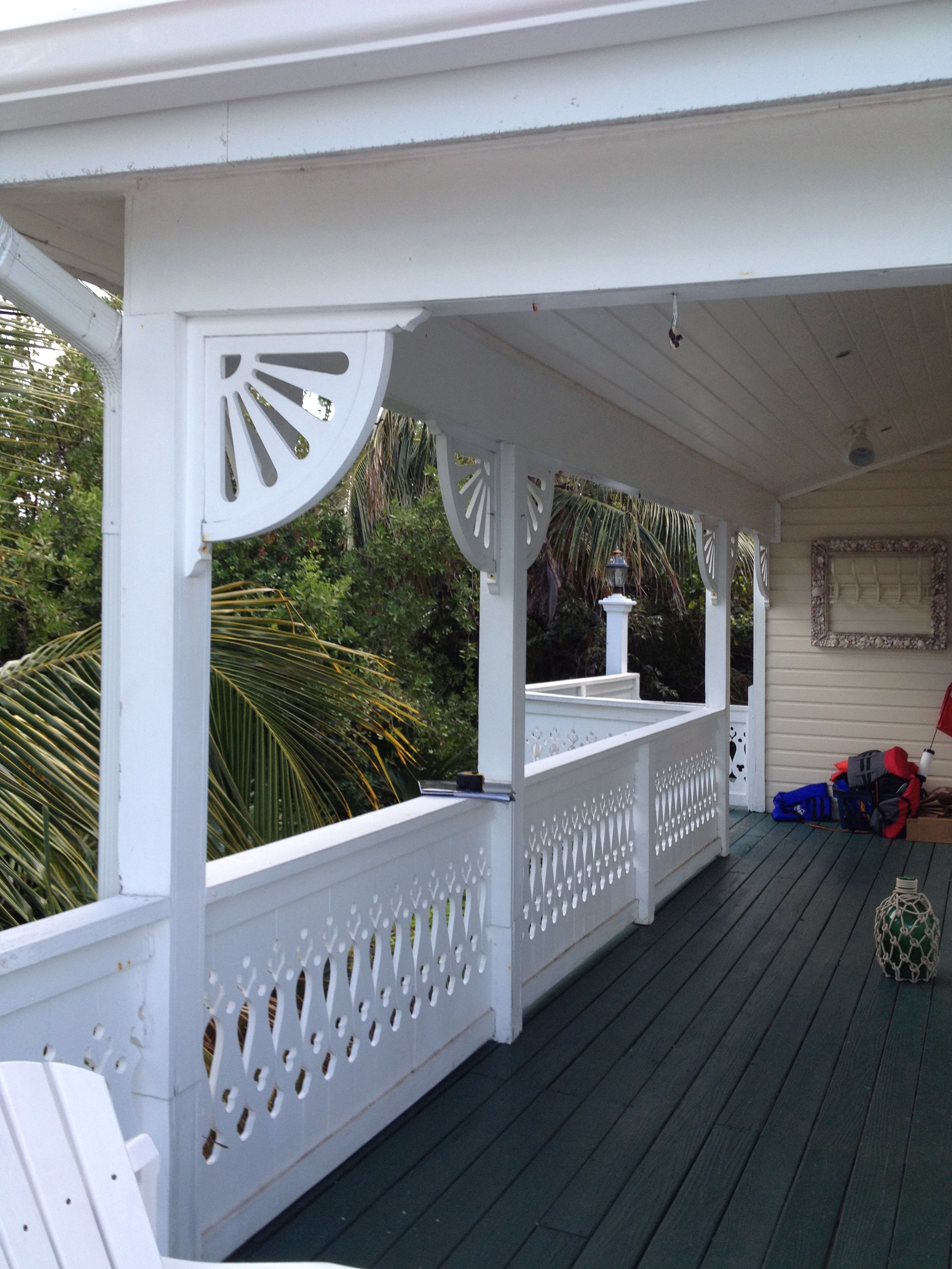 Porch Bracket And Porch Railing