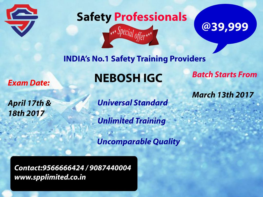 Nebosh International Diploma Is One Of The Most Demanding And Prestigious Qualification In Health Safety