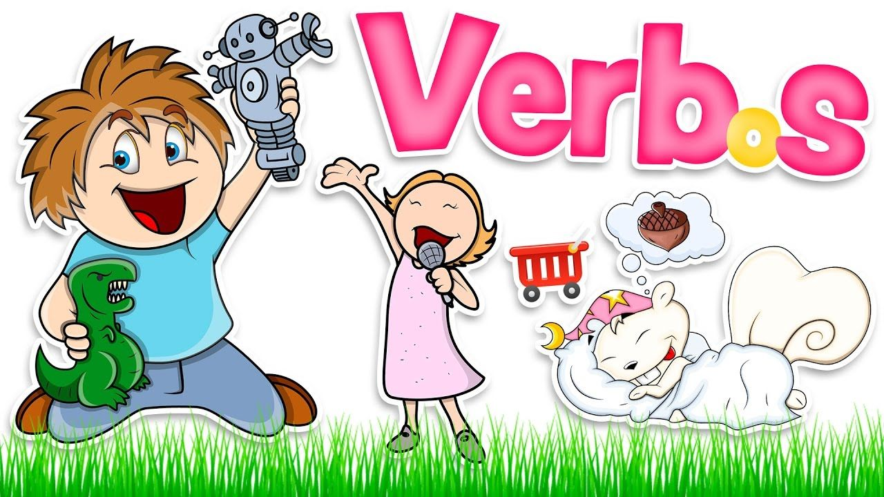Verbos Básicos En Inglés Y Español Para Niños Basic Verbs