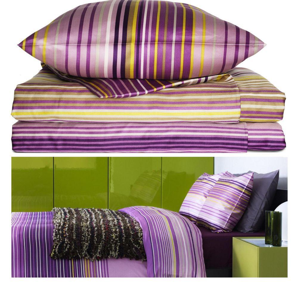 ikea duvet covers palmlilja striped 207tc duvet cover lilac cotton lyocell new ikea modern - Duvet Covers Ikea