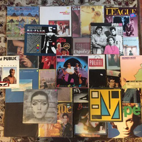 23 LP new wave punk lot! Talking Heads Blondie Ultravox https://t.co/yqqoblbKvG https://t.co/dOh2NHzeP3