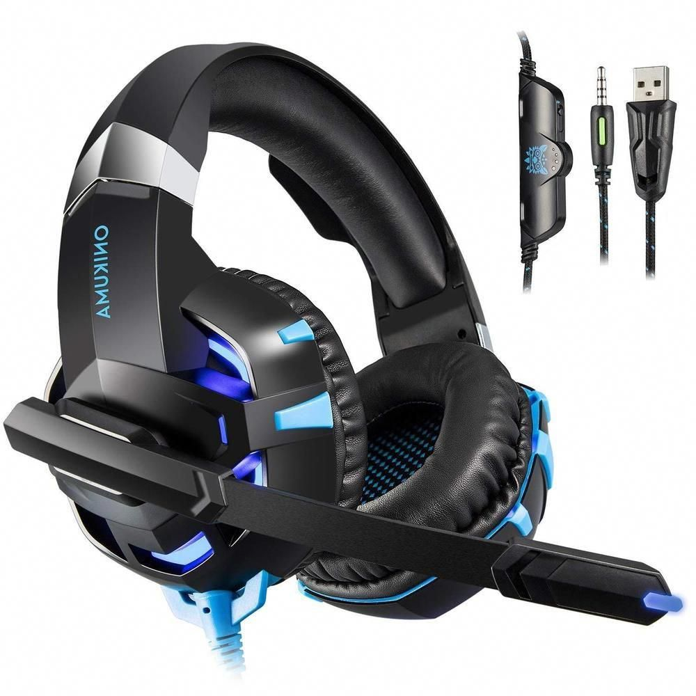 Fortnite Headphones PC gaming Headset Microphone PS4