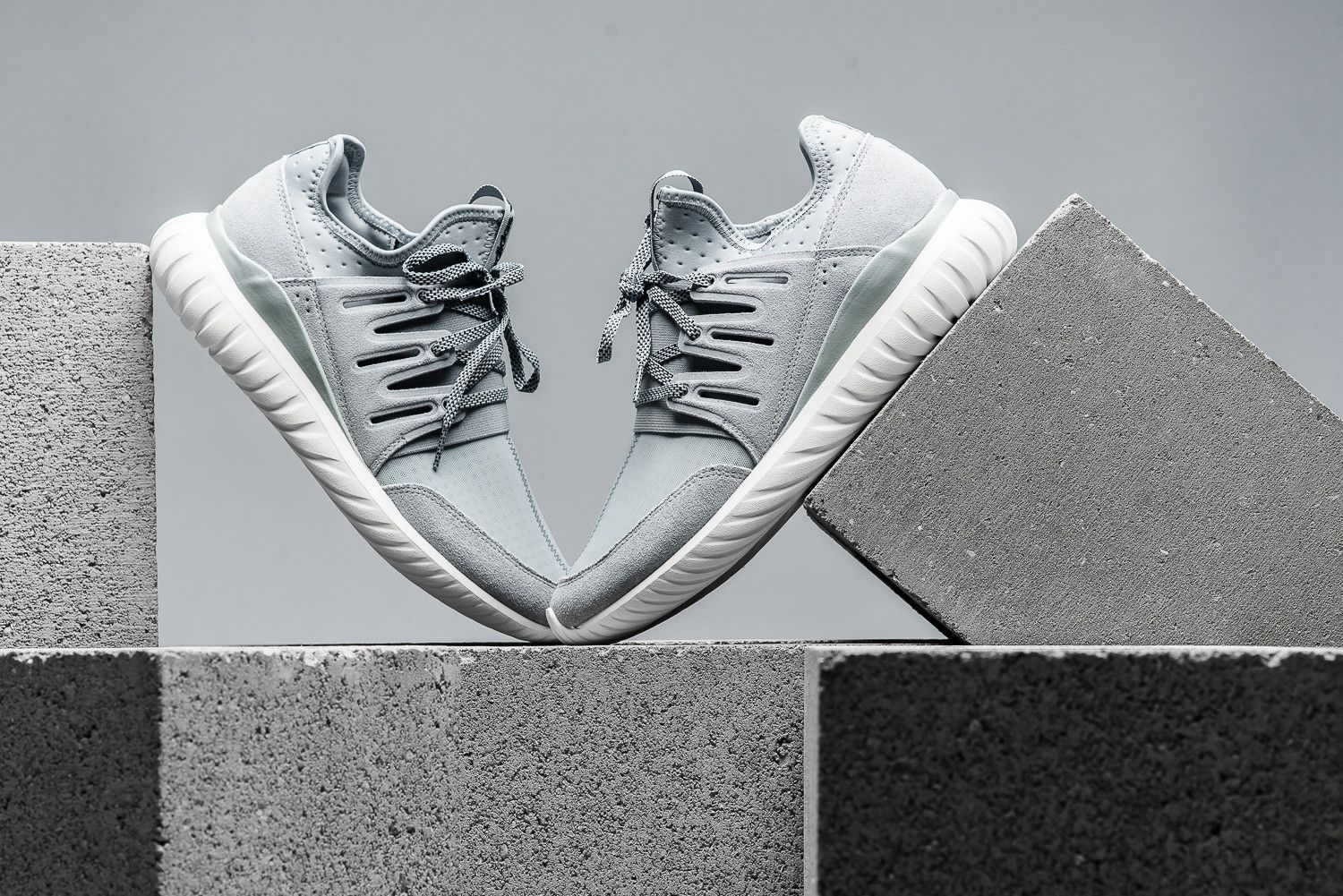 the best attitude c0342 f794a adidas Tubular Radial Light Grey/Vintage White | Sneaks ...