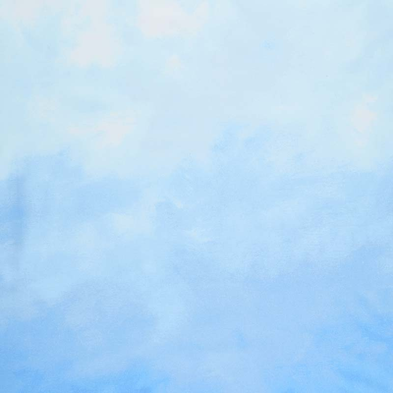 Sky - Ombre Powder Digitally Printed Yardage