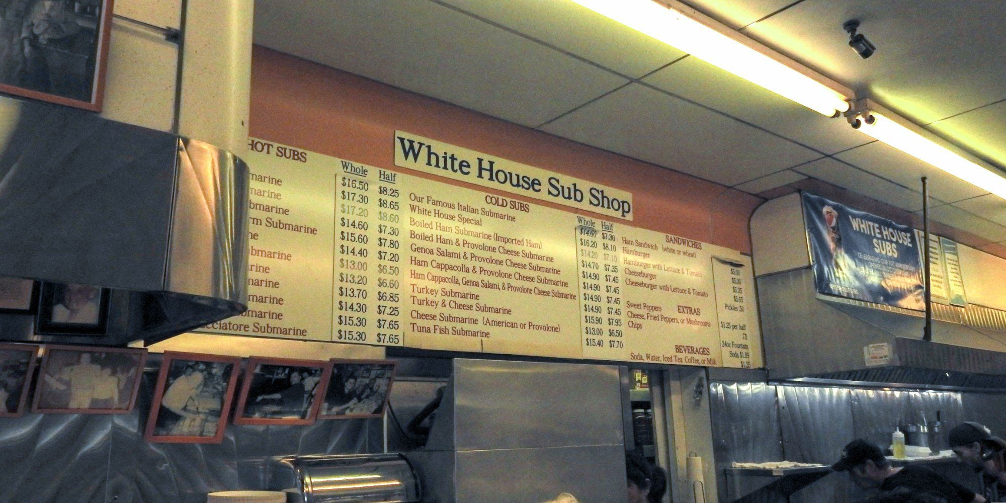 White House Sub Shop Atlantic City 2301 Arctic Ave Menu Prices Restaurant Reviews Tripadvisor Atlantic City White House Restaurant Review