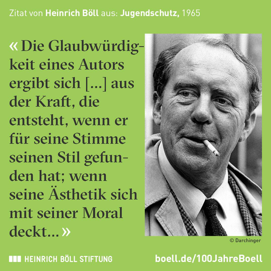 zitat von heinrich bll ber das schreiben stil ausdruck und thema - Heinrich Bll Lebenslauf
